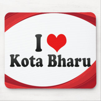 I Love Kota Bharu, Malaysia Mousepad