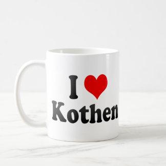 I Love Kothen, Germany. Ich Liebe Kothen, Germany Coffee Mug