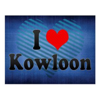I Love Kowloon, Hong Kong Postcard