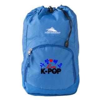 ♪♥I Love KPop Fabulous High Sierra Backpack♥♫ Backpack