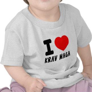 I Love Krav Maga Tshirts