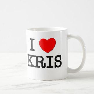 I Love Kris Mugs