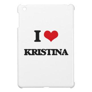 I Love Kristina iPad Mini Cover