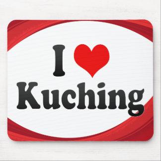 I Love Kuching Malaysia Mousepad