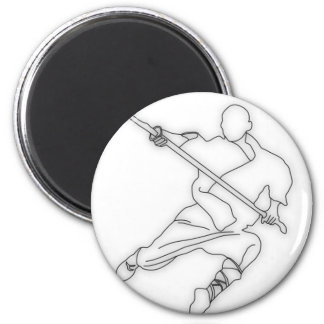 I Love Kung-Fu 2 6 Cm Round Magnet