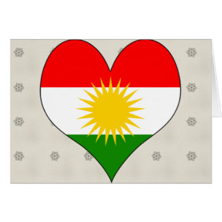 I Love Kurdistan Cards