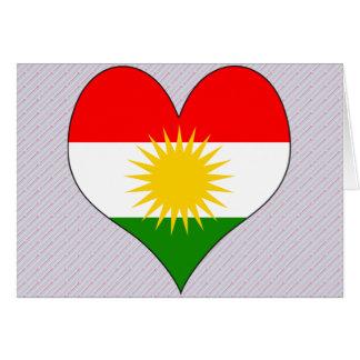 I Love Kurdistan Greeting Card