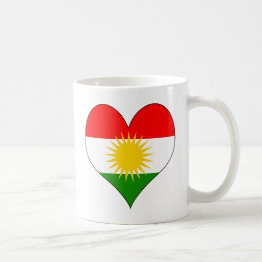 I Love Kurdistan Mugs