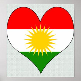 I Love Kurdistan Poster