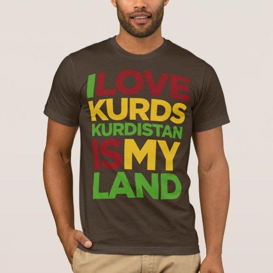I love Kurds & Kurdistan T-Shirt