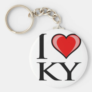 I Love KY - Kentucky Key Ring