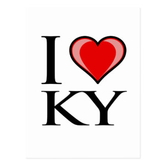 I Love KY - Kentucky Postcard
