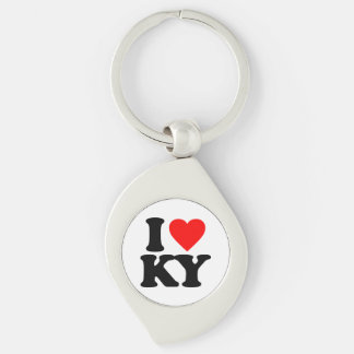 I LOVE KY KEY RING