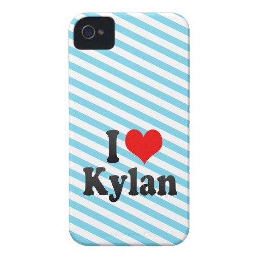 I love Kylan Blackberry Cases