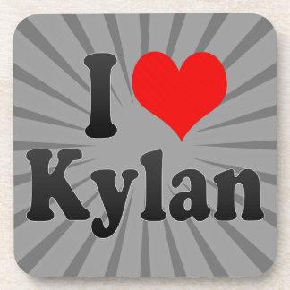 I love Kylan Drink Coasters