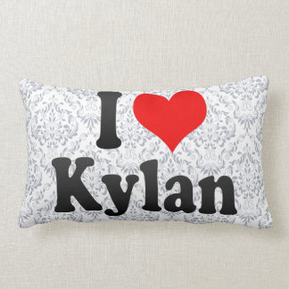 I love Kylan Throw Pillow