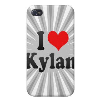 I love Kylan iPhone 4 Cases