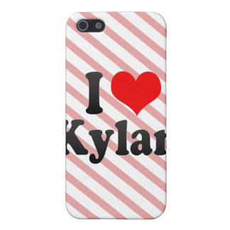 I love Kylan iPhone 5 Covers