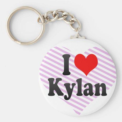 I love Kylan Key Chains