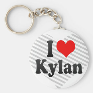 I love Kylan Key Chain