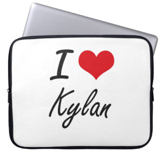 I Love Kylan Laptop Computer Sleeve