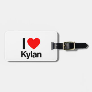 i love kylan tag for bags