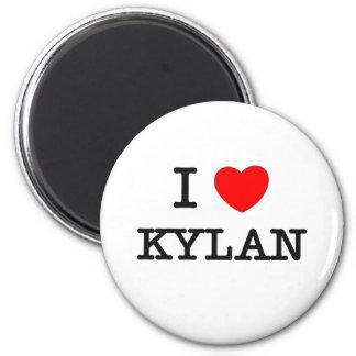 I Love Kylan Fridge Magnets