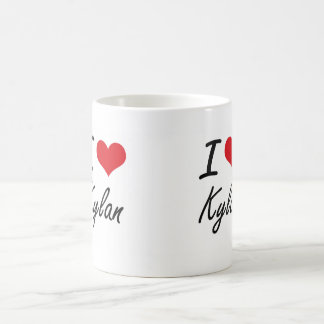 I Love Kylan Basic White Mug