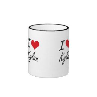 I Love Kylan Ringer Mug