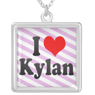 I love Kylan Custom Necklace