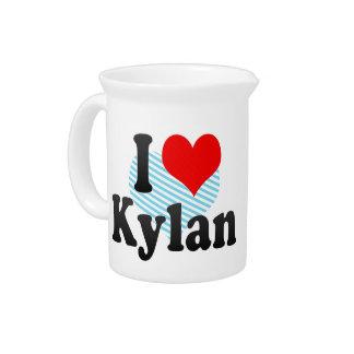I love Kylan Beverage Pitcher