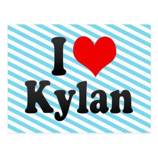 I love Kylan Post Card