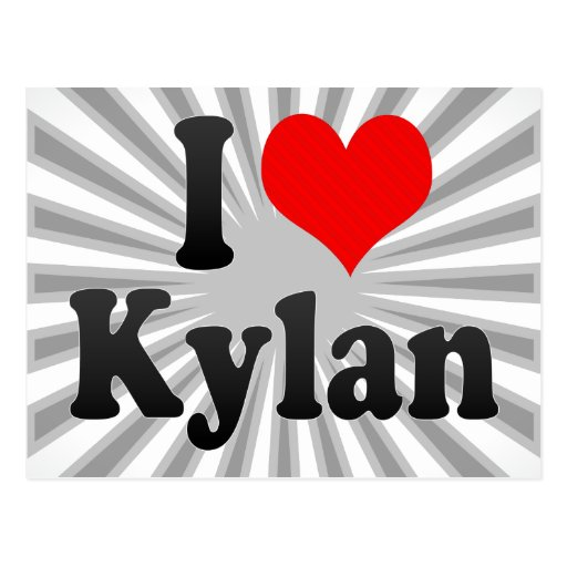 I love Kylan Postcard