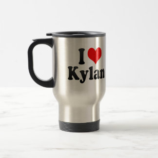 I love Kylan Stainless Steel Travel Mug