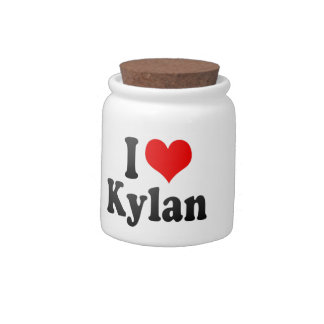 I love Kylan Candy Dishes