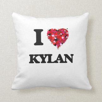 I Love Kylan Throw Cushion