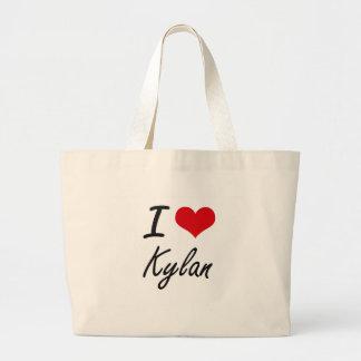 I Love Kylan Jumbo Tote Bag