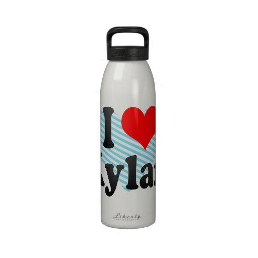 I love Kylan Drinking Bottle