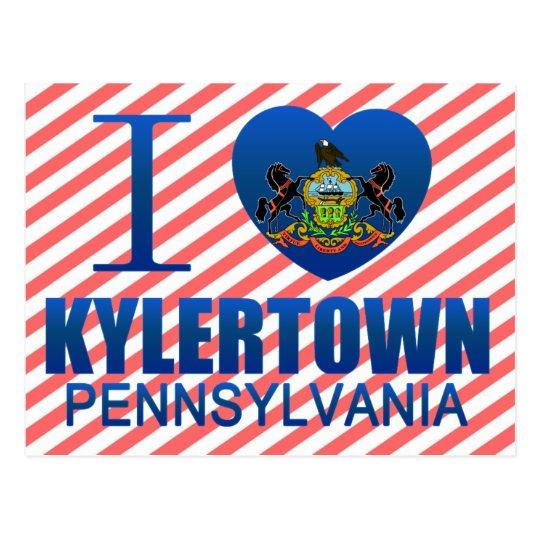 I Love Kylertown, PA Postcard