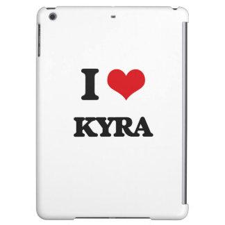I Love Kyra iPad Air Cases