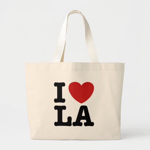 I Love LA Bags