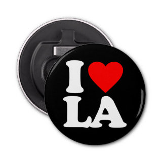 I LOVE LA BOTTLE OPENER