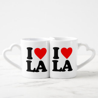 I LOVE LA COFFEE MUG SET