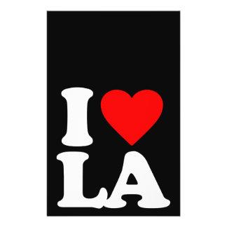 I LOVE LA FLYER