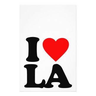 I LOVE LA FLYERS