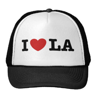 I Love LA Mesh Hats