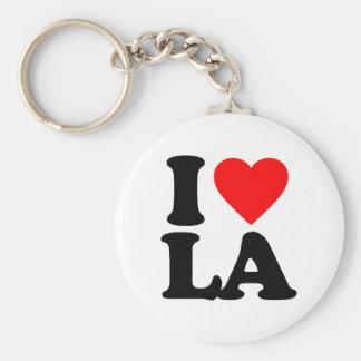 I LOVE LA KEY RING
