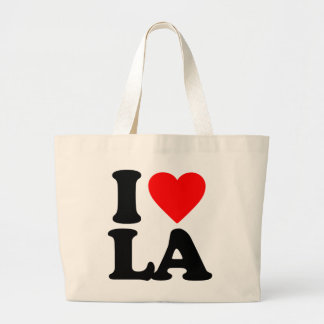 I LOVE LA LARGE TOTE BAG
