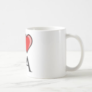 I Love LA - Louisiana Basic White Mug