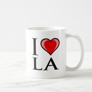 I Love LA - Louisiana Basic White Mug